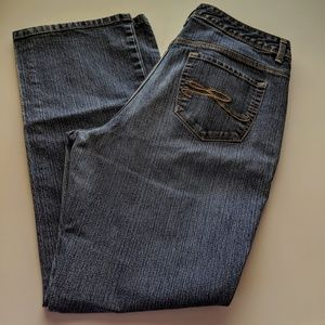 Style & Co straight leg jeans, size 14